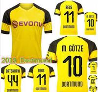mejor camiseta de fútbol 2018 del Dortmund 2018 de calidad tailandesa  M.GOTZE REUS YARMOLENKO ba5d370a2a32b