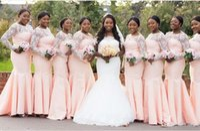 Kaufen Sie Im Grosshandel Hellrosa Fur Afrikanische Brautjungfern