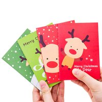 30pcs lot Christmas Day Red Green Small Cute Writing Paper C...