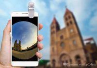 عدسة فيش 3 في 1 الهاتف الخليوي عدسات عين السمكة + عدسة زاوية واسعة + كاميرا الماكرو فون الروبوت XIAOMI هواوي سامسونج الهاتف