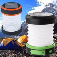 Solar light Led Camping Lantern Lights Rechargeable Battery ...