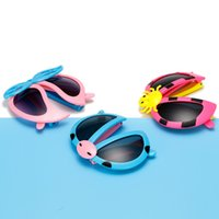 3 style kids Cartoon Fold Ladybug Glasses Girls Boys sunbloc...