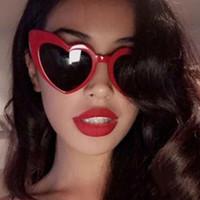 Herzförmige Sonnenbrille Pfirsich Herz Sonnenbrille Weiche Schwester Harajuku Nette Brille Beige Herbst Und Winter Neue Hohe Qualität