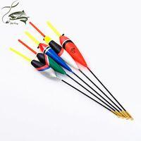 5 UNIDS / LOTE 1g-5g Día Noche Flotador de Pesca Con 4 UNIDS Glow Light Stick Para Regalo Gratis Pesca Boia Flotteur Peche Tackle Pesca Boyas