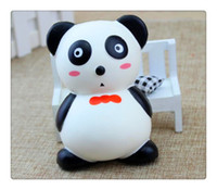 New Kawaii Jumbo Soft Squishy Panda Charm Slow Rising Toys P...