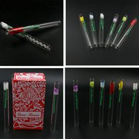 Heady Glass Pipes Love Rose Oil Burner Transparent Tube Pipe...