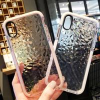 Los casos de la jalea de lujo del teléfono para la caja transparente iPhone X 10 Soft TPU Shookproof cubierta para el para el iPhone 6 7 8 6s Plus