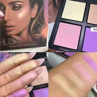 New Huda beauty Makeup 3D Highlighters Glow 4 colors Highlig...