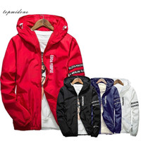 Young men Hooded Thin Jacket plus size Quick Dry Windbreaker tops long sleeve Waterproof casual jackets rashguard coat