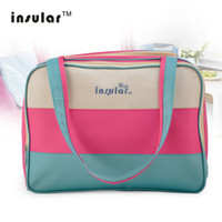 Insular Mother Maternity Nappy Diaper Bag Durable Microfiber...