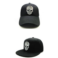 LDSLYJR 2018 personality skull embroidery cotton Baseball Ca...