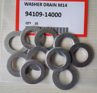 10Pcs Drain Plug Washer gasket Fit For Accord 94109- 14000 M1...