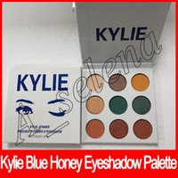 New Kylie Jenner Eyeshadow Kyshadow Pressed Powder Blue Hone...