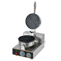 Elektrikli Waffle Makinesi Ticari Waffle Makinesi 220 V Mutfak Aletleri yapışmaz Tava CE Marka Yeni Ücretsiz Kargo