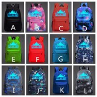 12 Colors 47*31*18 CM Fortnite Boys Girls' Backpacks Ca...
