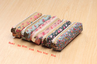 Hot Sales Cute Kawaii Floral Flower Canvas Pencil Cases Love...