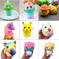 Squishies Kawaii misti Squishies Rising lento Cartoon PU Simulazione Durevole Soft Scented Profumato giocattolo cinghie Squishy giocattoli di decompressione novità