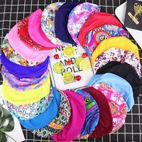 плавательные шапочки эластичная ткань спандекс нейлоновая ткань подростки плавательная шапочка для детей старше 8 лет и подростков купальная Шапочка