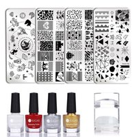 wholesale 3Pcs Set 6ml Nail Stamping Polish Set Colorful Sta...