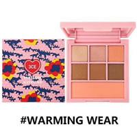 Novo 3CE Sombra de aquecimento desgaste congelamento passo 7 cores paleta de sombra de olho terra abóbora sombra maquiagem paleta de nudez melhor qualidade
