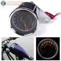 Motorcycle Odometer Guage Rev Counter 0- 13000 RPM Motorbike ...