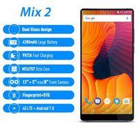 """Vernee Mix 2 4G 스마트 폰 6.0 """"Android Octa Core 4GB 64GB 휴대 전화 18 : 9 디스플레이 13.0MP 듀얼 후면 카메라 지문 스캐너 터치 셀"""