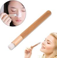 Top Flat Pincel De Limpeza Facial Nose Pore Cleaner Lavar Remoção de Cravo Escova de Limpeza Facial Cuidados Com A Pele Escovas