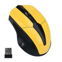 노트북을위한 브랜드 마우스 내구성 2.4GHz 마우스 옵티컬 마우스 무선 USB 수신기 PC 컴퓨터 무선