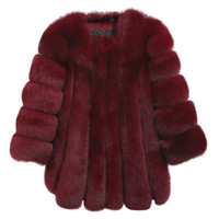 2017 Winter Warm Coat Female Luxury Faux Fur Soft Long Solid...