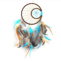 Handmade Feathers Dream Catcher Hunter substance attrape rev...