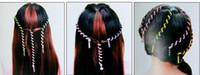 Diadema 6 unids Kids Girls Bricolaje Hair Styling Braiding Rizadores de espiral Rollers Head Dress Band Flexible Rodillos de pelo flexible Rulos