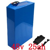 US EU no tax 48v 25Ah 2000w Lithium Battery Pack with 5A Cha...