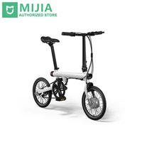 fd06453f1db Wholesale electric mini bike resale online - Genuine xiaomi smart electric  bicycles bike portable mijia Qicycle