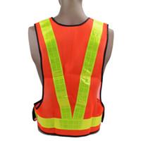 Warnweste für hohe Sichtbarkeit Radfahren Arbeitskleidung Motorrad Fahrradsport Laufen im Freien Reflektierender Gürtel Sicherheitsjacke