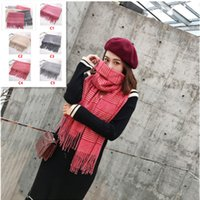 2018 Fashionable Womens Scarf Warm Cashmere Winter Scarf Wom...