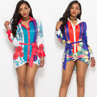 2021 여성 패션 셔츠 드레스, 여름 및 가을, 옷깃 목, 두 가지 색상, 좋은 인쇄, 플러스 사이즈