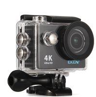 "Original EKEN H9 H9R Télécommande Ultra HD 4K Action Caméra WiFi 2.0 ""170D Sous-marin Casque étanche Sport cam mini DV"