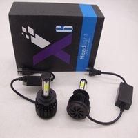 H1 H4 H7 H11 9007 CREE LED-Scheinwerfer-Umbausatz-Birnen-4000W 40000LM Lampe Hallo / Lo 6000K