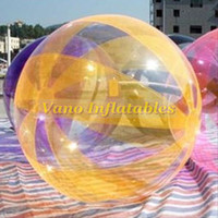 Acqua Zorbing TPU Migliore qualità Walk on Water Ball Sfere umane Zorb Trasparente 1,5 m 2 m 2,5 m 3 m Consegna gratuita