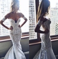 Pallas Couture Mermaid Wedding Dress Sweetheart Neckline 3d ...