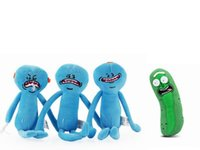 Wholesale Rick and Morty Plush Doll Toy Cucumber Pickle Rick...