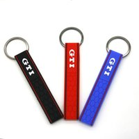Genuine Keychain 3 Colors Golf MK5 Genuine GTI Honeycomb Key...