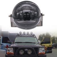 Le rond de tache de puissance élevée 4D 5.5inch 45W a mené outre du feu de route le travail de tache de travaux de tache de 12V Wrangler HeadLight 4x4 camion de conduite s'allume d'inondation