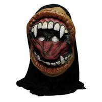 2018 Горячее Новое прибытие Высокое качество Halloween party большой рот гримаса монстра силиконовые маски ужасов украшения партии