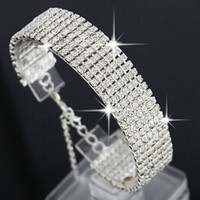 Multi- layer Luxury Crystal Rhinestone Bracelet for Women Bri...