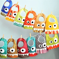 Small Monster Bibs Mouth Water Towel 15 Style INS Hugely Pop...