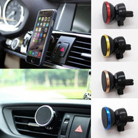Car Magnetic Air Vent Mount 360° Rotating Stand Holder Phone...
