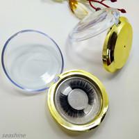 속눈썹 10 쌍 자연 긴 눈 날개 달린 Crisscross 부드러운 가짜 속눈썹 순수한 핸드 코튼 스레드 Makup Tool Gold-Plating Box