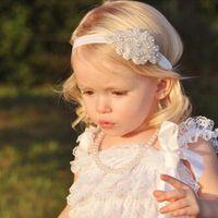 1 jeu Fleur pieds nus et Bandeau du nouveau-né bébé Couvre-chef enfants nourrisson Bandeau Pied élastique fleur Accessoires cheveux