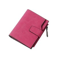 Female Short Wallet Women Vintage Fashion Top Quality Small Wallet Leather Purse Money Coin Card Holders Wallets Carteras #YL5
